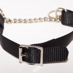 Webbing Collar With Buckle, Black