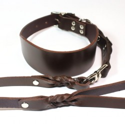 Greyhound Collar and Lead Set