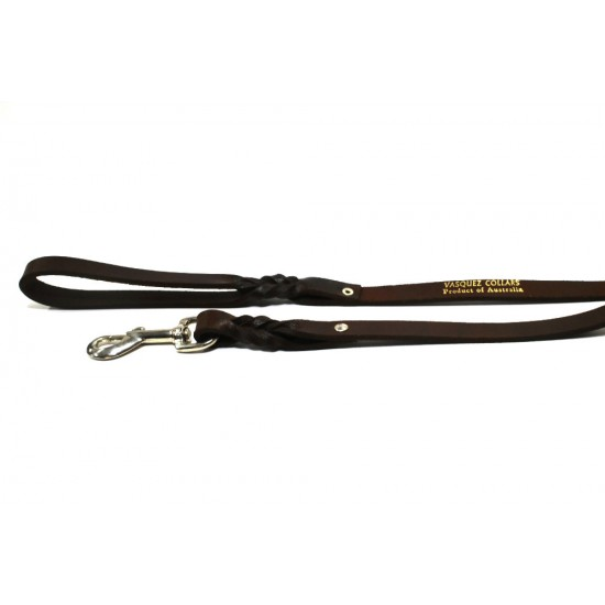 Hand-stitched Leather Lead (1.2m)