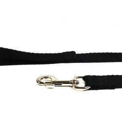 1m Soft Cotton Lead, 25mm Wide, Black