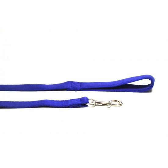 1m Soft Cotton Lead, 25mm Wide, Blue