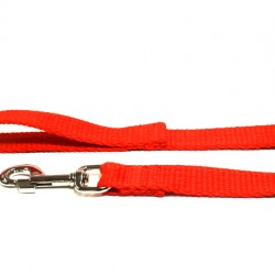 2m Soft Cotton Lead, 25mm Wide, Red